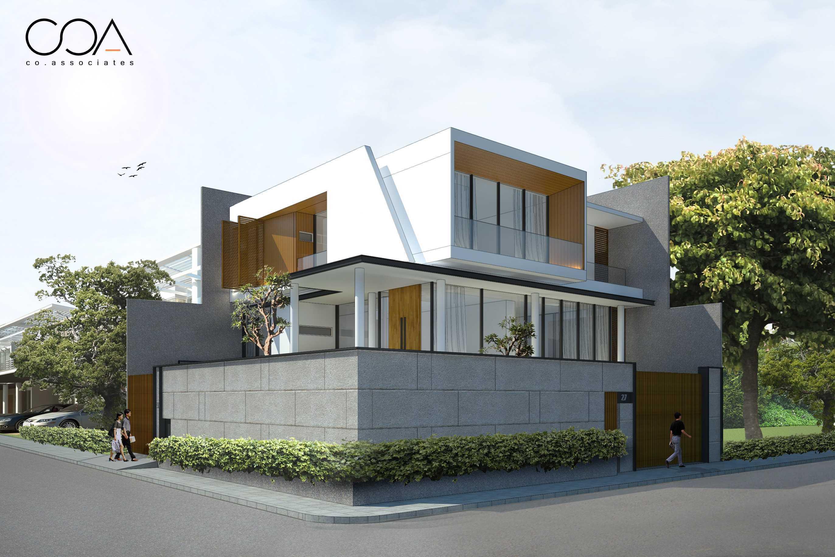 Co Associates Hp House Gading Kirana, Jakarta Gading Kirana, Jakarta Facade Minimalis  18106