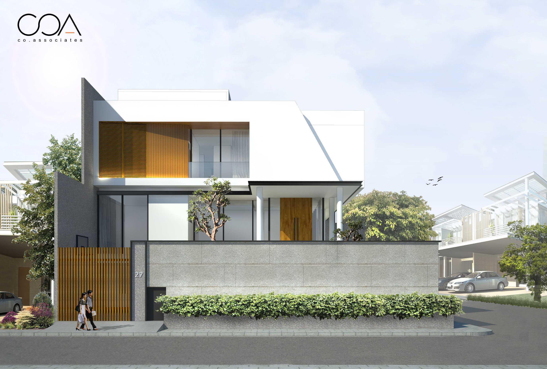 Co Associates Hp House Gading Kirana, Jakarta Gading Kirana, Jakarta Facade Minimalis  18107