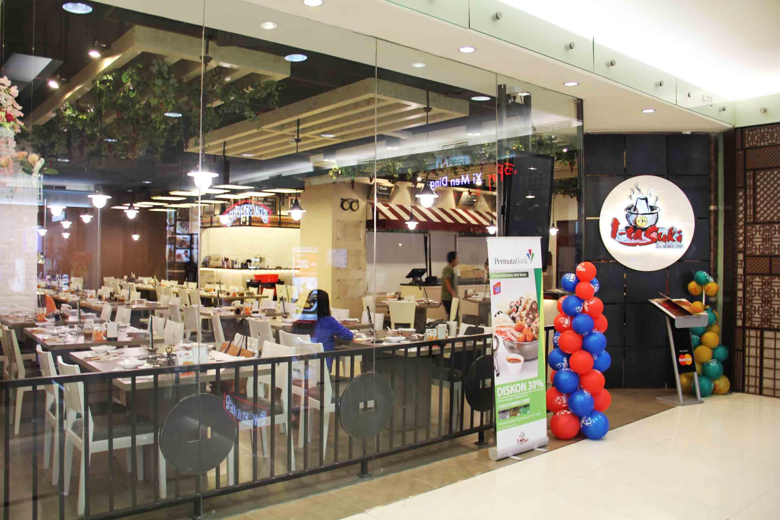 Co Associates I-Ta Suki Restaurant Senayan City, Jakarta Senayan City, Jakarta Front View   18136
