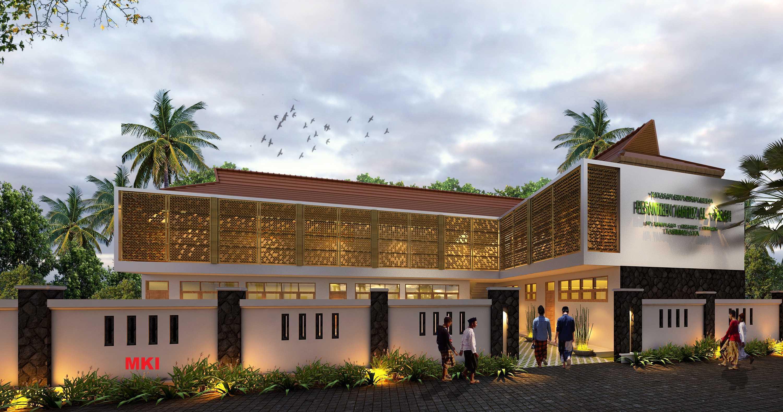 Mki Pesantren Tahfidz Al-Falah Tasikmalaya - West Java Tasikmalaya - West Java Tampak Depan Facade Tropis  17091