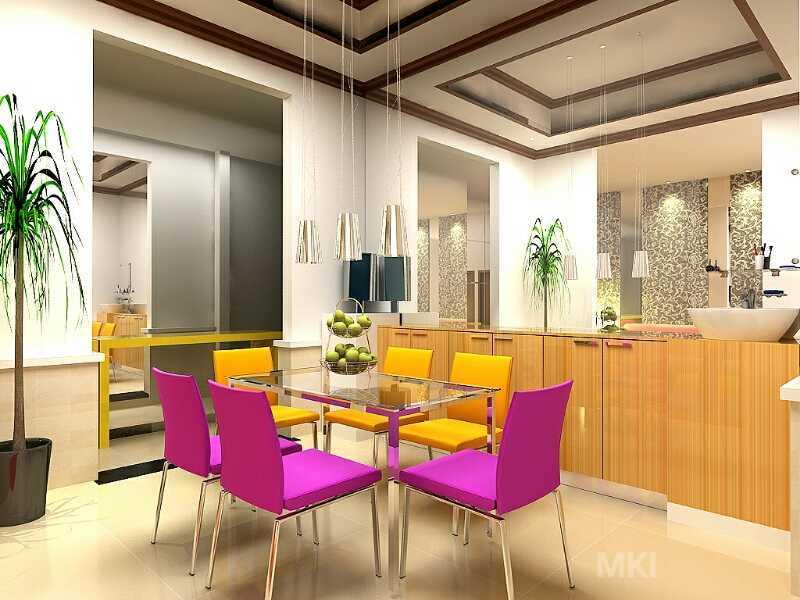 Mki Interior Villa Ys Cirebon Cirebon Dining Room Modern  18386