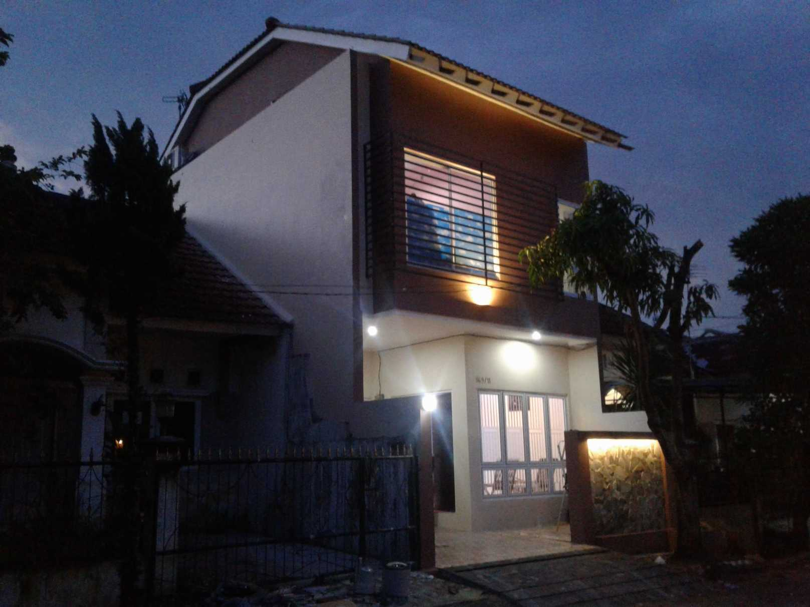Mki Ds House Bogor Bogor Facade At Night Modern  23015