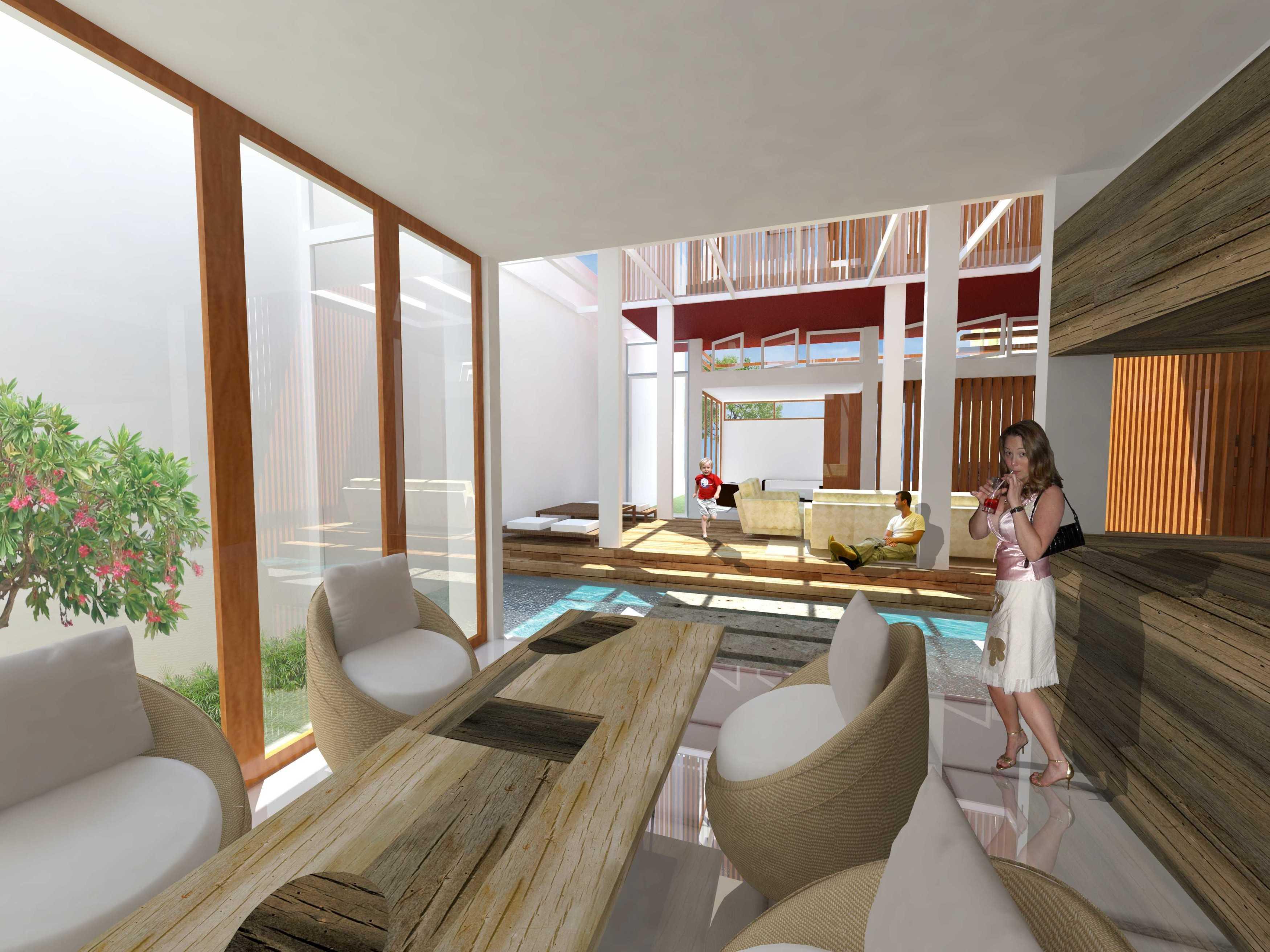 Hizkia Firsto Giovanni Inside Out Denpasar Denpasar Interior-Edit Tropis,minimalis,modern,wood Elemen Outdoor Seperti Pond Dan Taman Masuk Ke Dalam Rumah. 21441