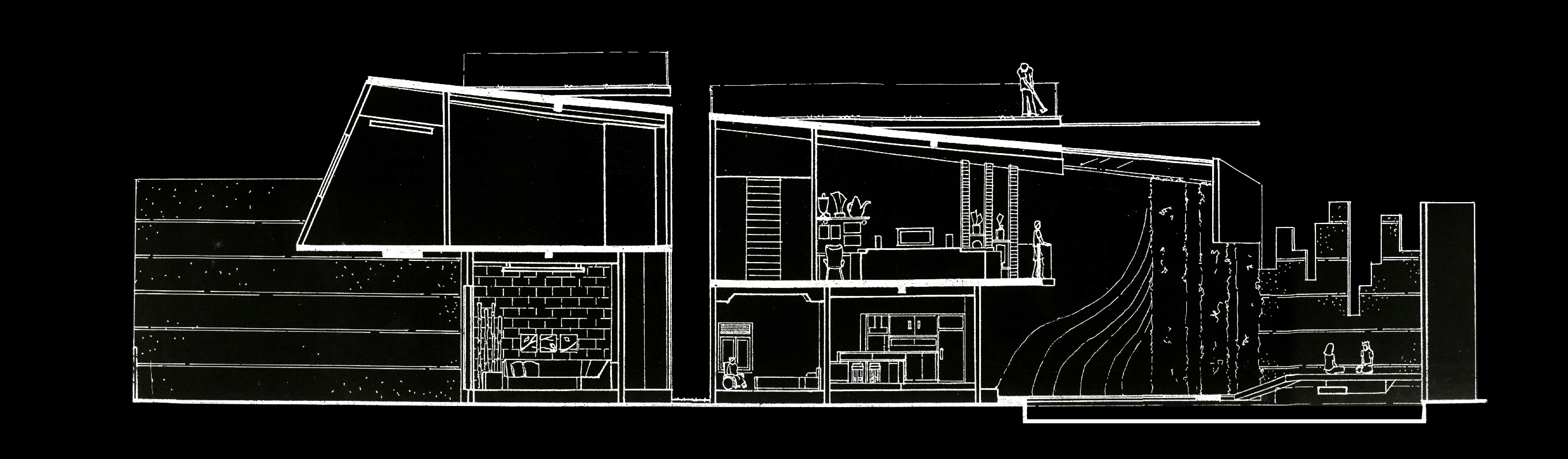Hizkia Firsto Giovanni Dogleg House Surabaya Surabaya Potongan-Black   21482