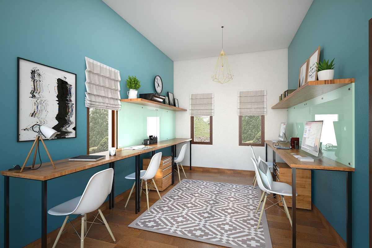 Vivame Design Simple Interior House 2 Lombok Lombok Ruang-Kerja-Atas-2 Modern  17323