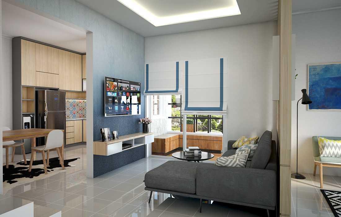 Vivame Design Simple Interior House Jakarta Jakarta Render-Livingroom Modern  17330