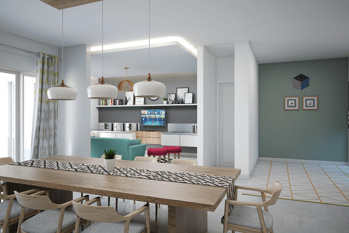 Vivame Design Griya Loka Jakarta, Indonesia  Ruang-Makan-3   35711