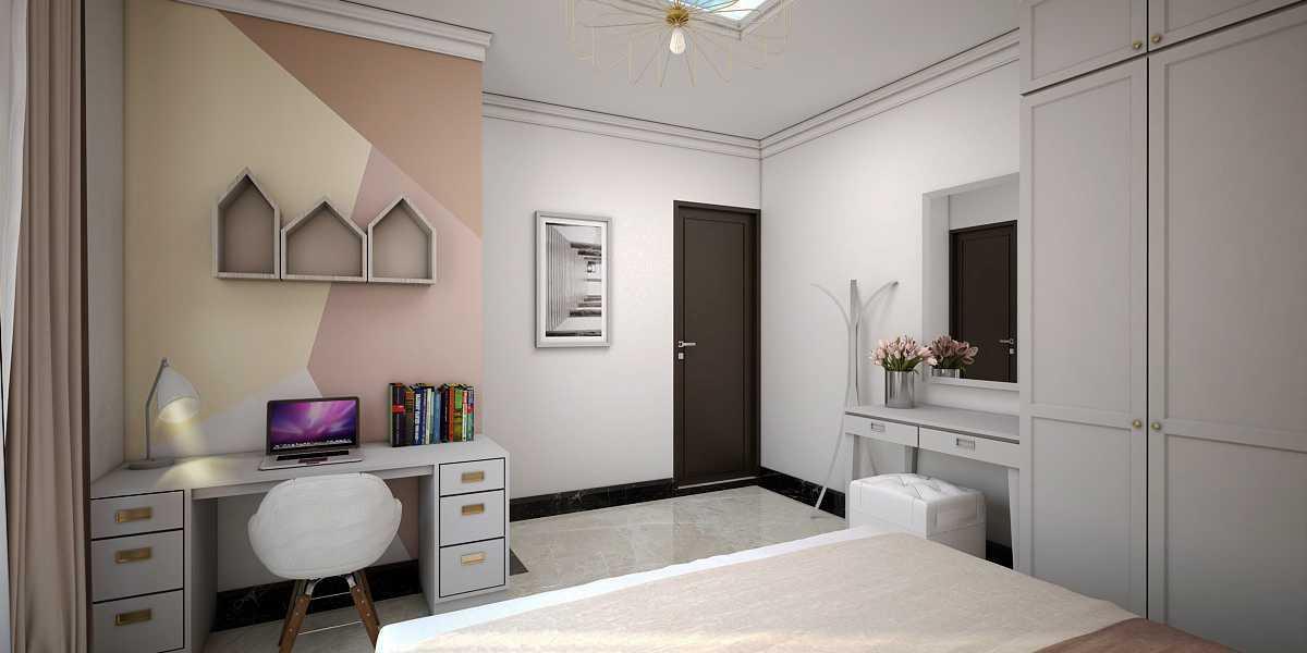 Vivame Design Giri Loka Jakarta, Indonesia  Kamar-Anak-Perempuan-1 Kontemporer  36050