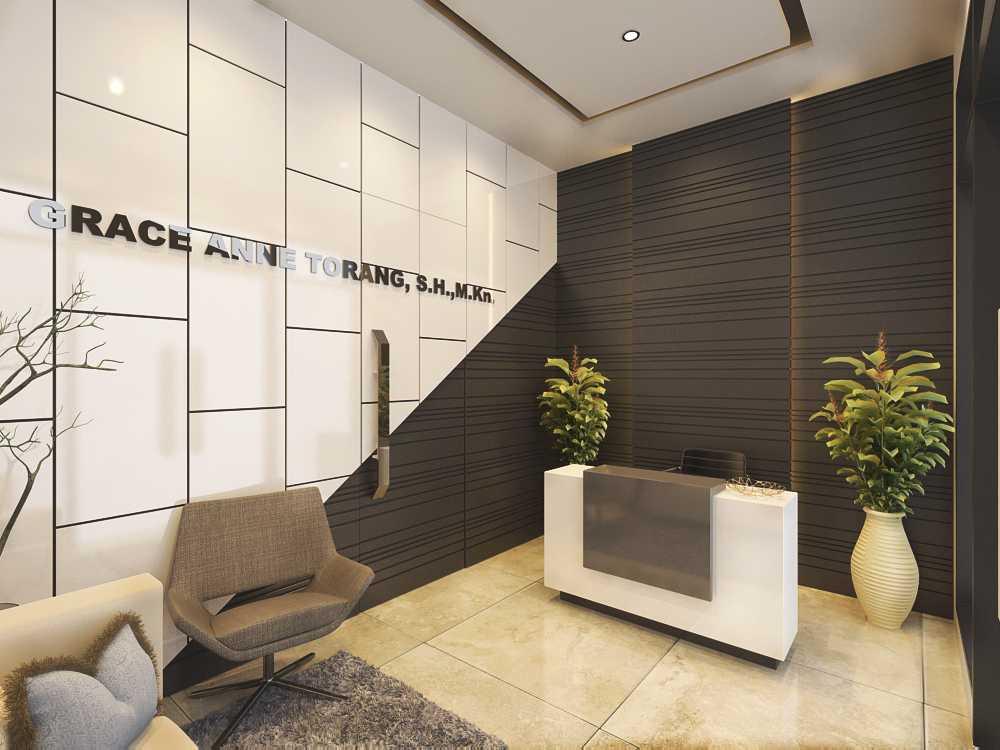 Jr Design Kantor Notaris Bekasi Bekasi Bekasi Lobby Modern  17422