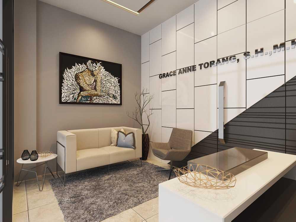 Jr Design Kantor Notaris Bekasi Bekasi Bekasi Lobby Modern  17423