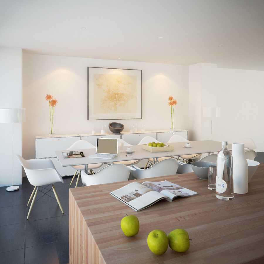 Jr Design Minimal Kitchen Bsd Serpong Bsd Serpong Dining Area Modern  30028