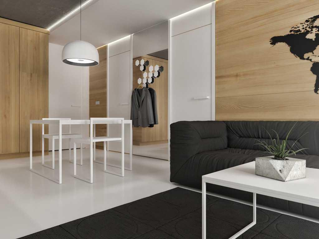 Jr Design Studio Apartment Jakarta, Indonesia Westmark Apartment Studio Apartment - Living Room Minimalist  30031
