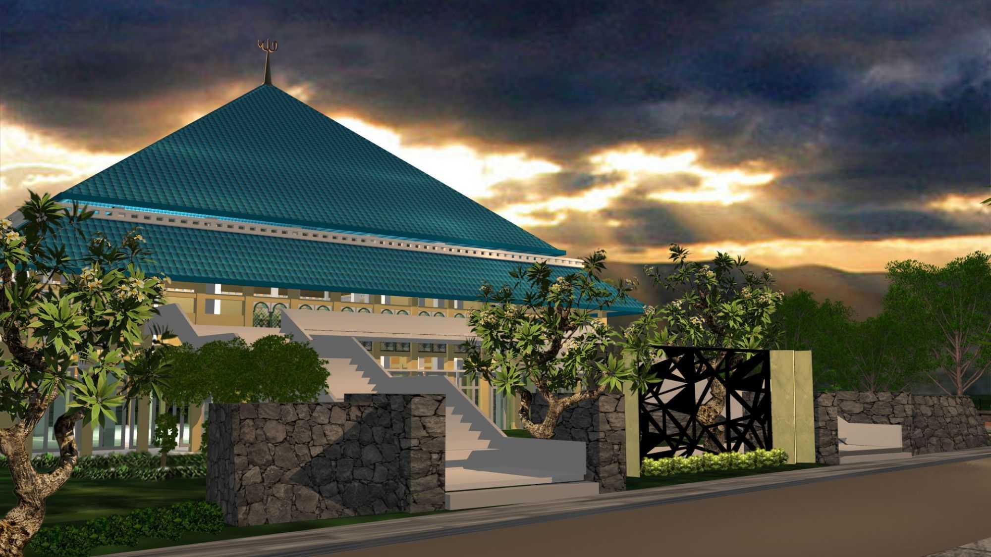 Mikael Wahyu Masjid Praya Lombok Lombok Front View   26786