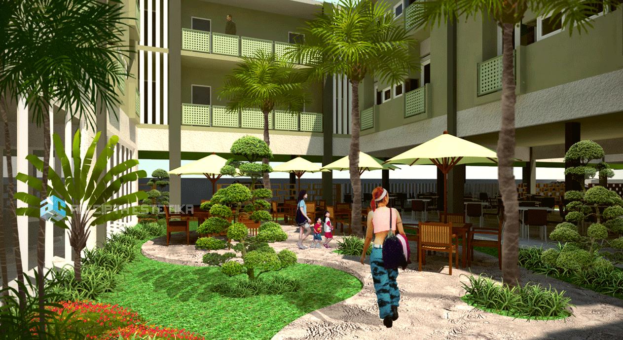 Adi Cipta Estetika Atmosphere Tanamas Residence Medan Medan Atr-Innercourt   20031