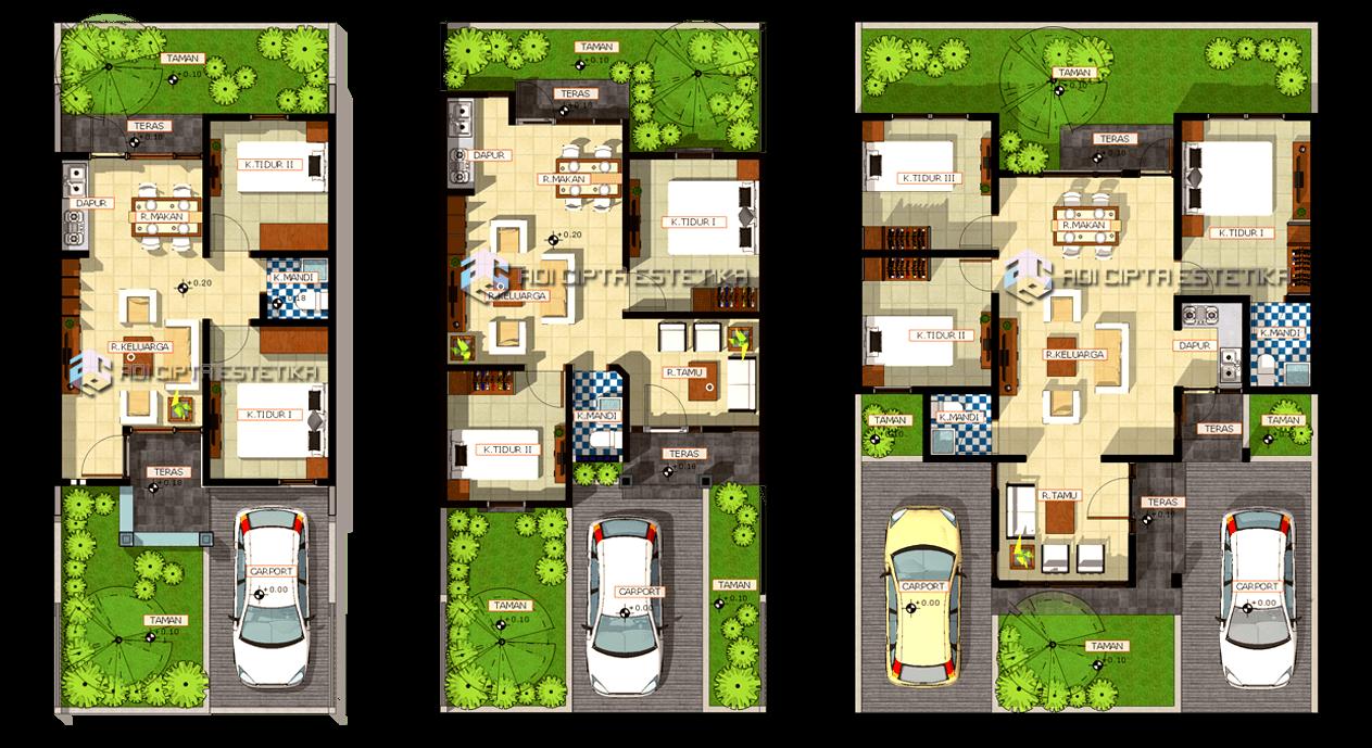 Adi Cipta Estetika Residential Cluster Development Medan Medan Floor Plan Minimalis  20026
