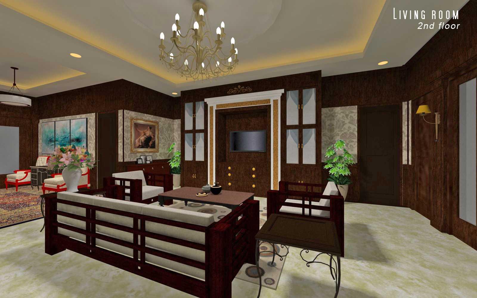 Adi Cipta Estetika Classic Interiors Design Medan Medan Living 2Nd Floor Klasik  20040