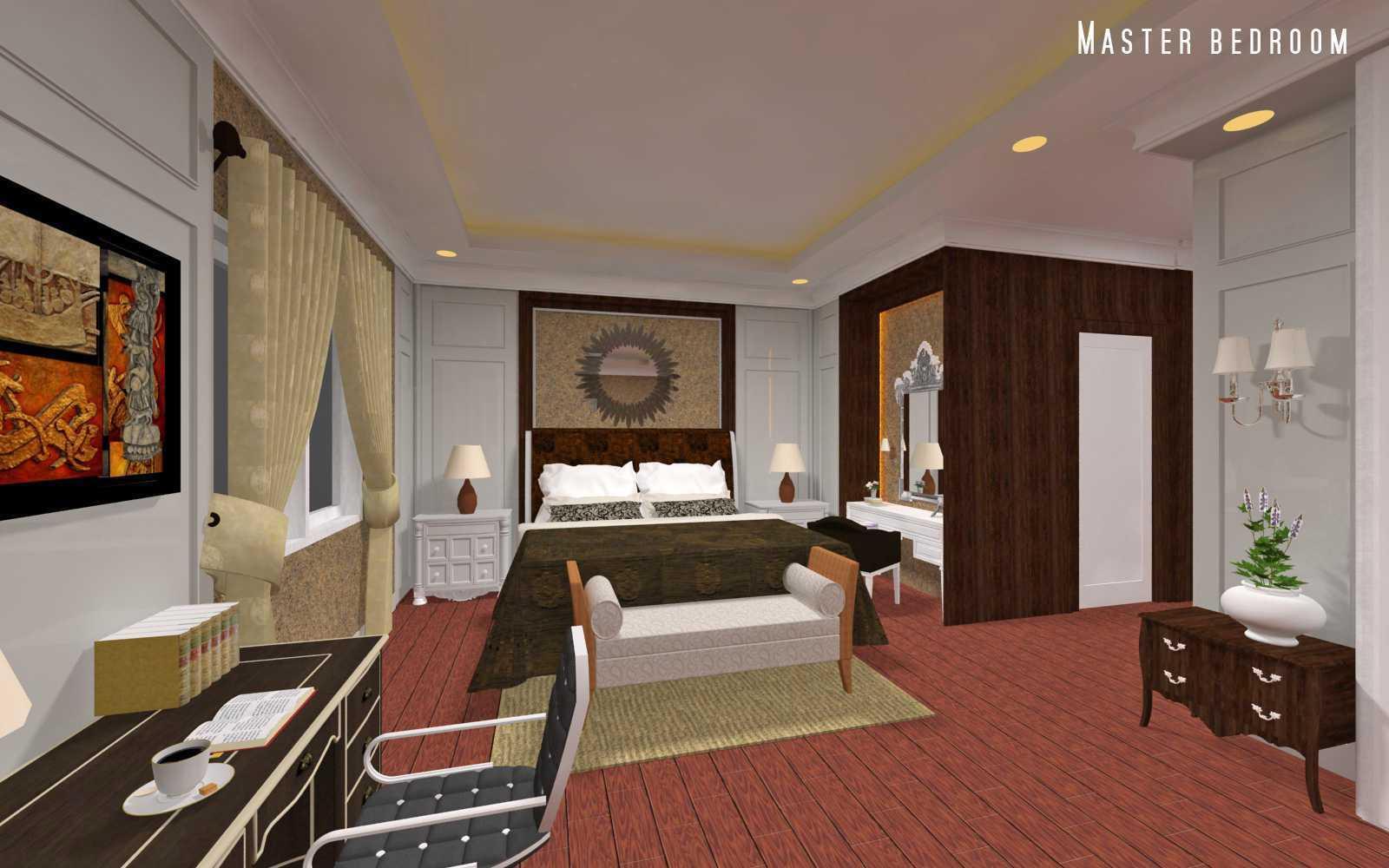 Adi Cipta Estetika Classic Interiors Design Medan Medan Master Bedroom Klasik  20041