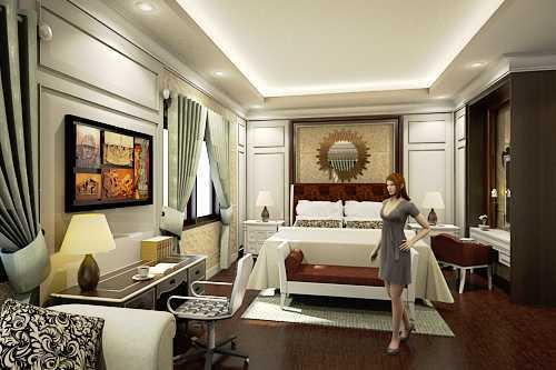 Adi Cipta Estetika Classic Interiors Design Medan Medan Master-Bedroom Klasik Classic Interior Design 26231