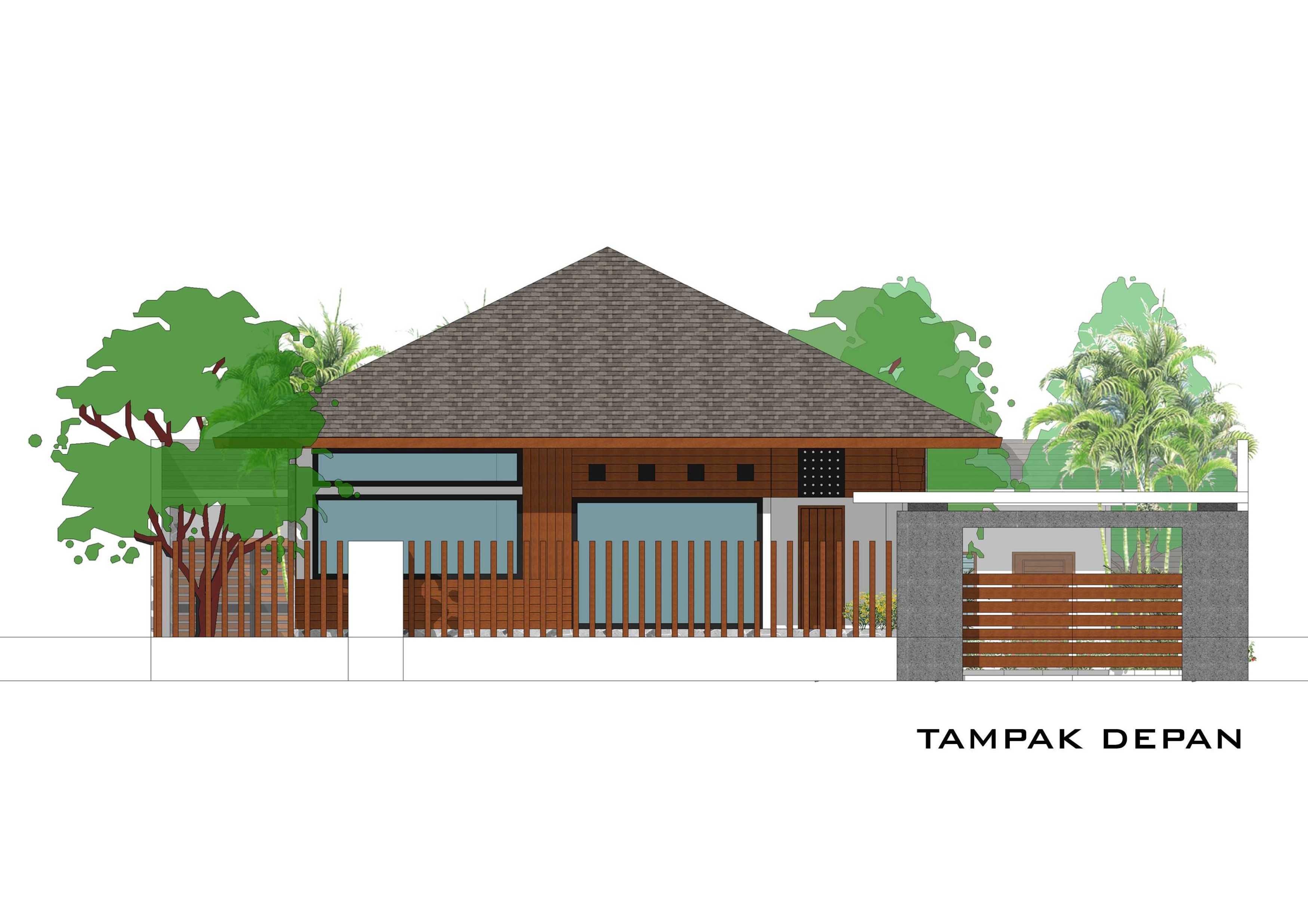 Adi Cipta Estetika Banjarmasin House  Banjarmasin, Kalsel Banjarmasin, Kalsel Tampak-Depan Minimalis  20282