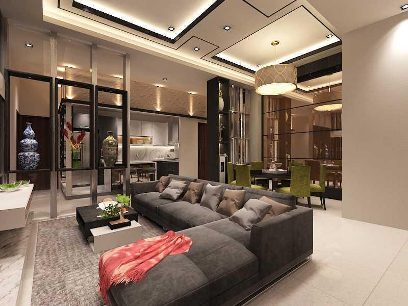 Imelda Private Residence Makassar, Makassar City, South Sulawesi, Indonesia Makassar Living-Dining-Pantry   24994