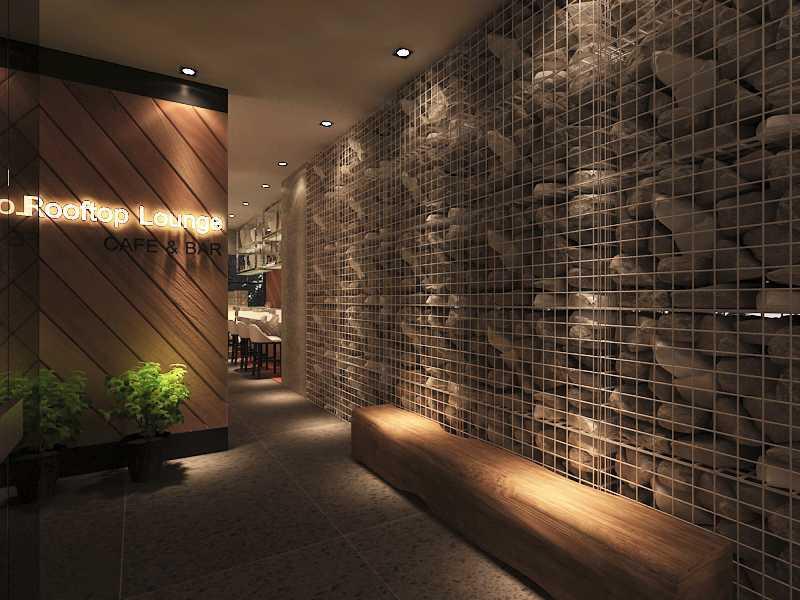 Imelda Rooftop Cafe Manado City, North Sulawesi, Indonesia Makassar Rooftop-Lounge-1-5-Edit Kontemporer  28759
