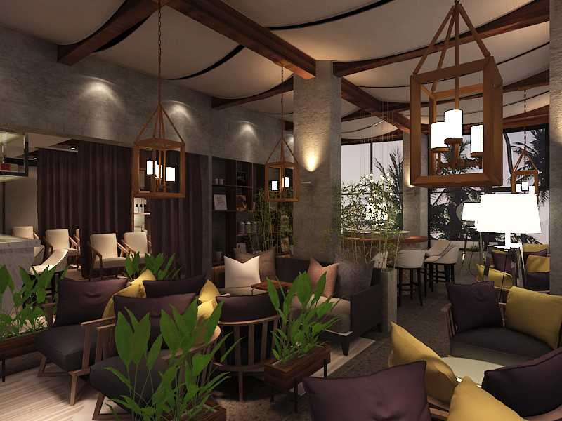Imelda Rooftop Cafe Manado City, North Sulawesi, Indonesia Makassar Rooftop-Common-Lounge-Area-3 Kontemporer  36025