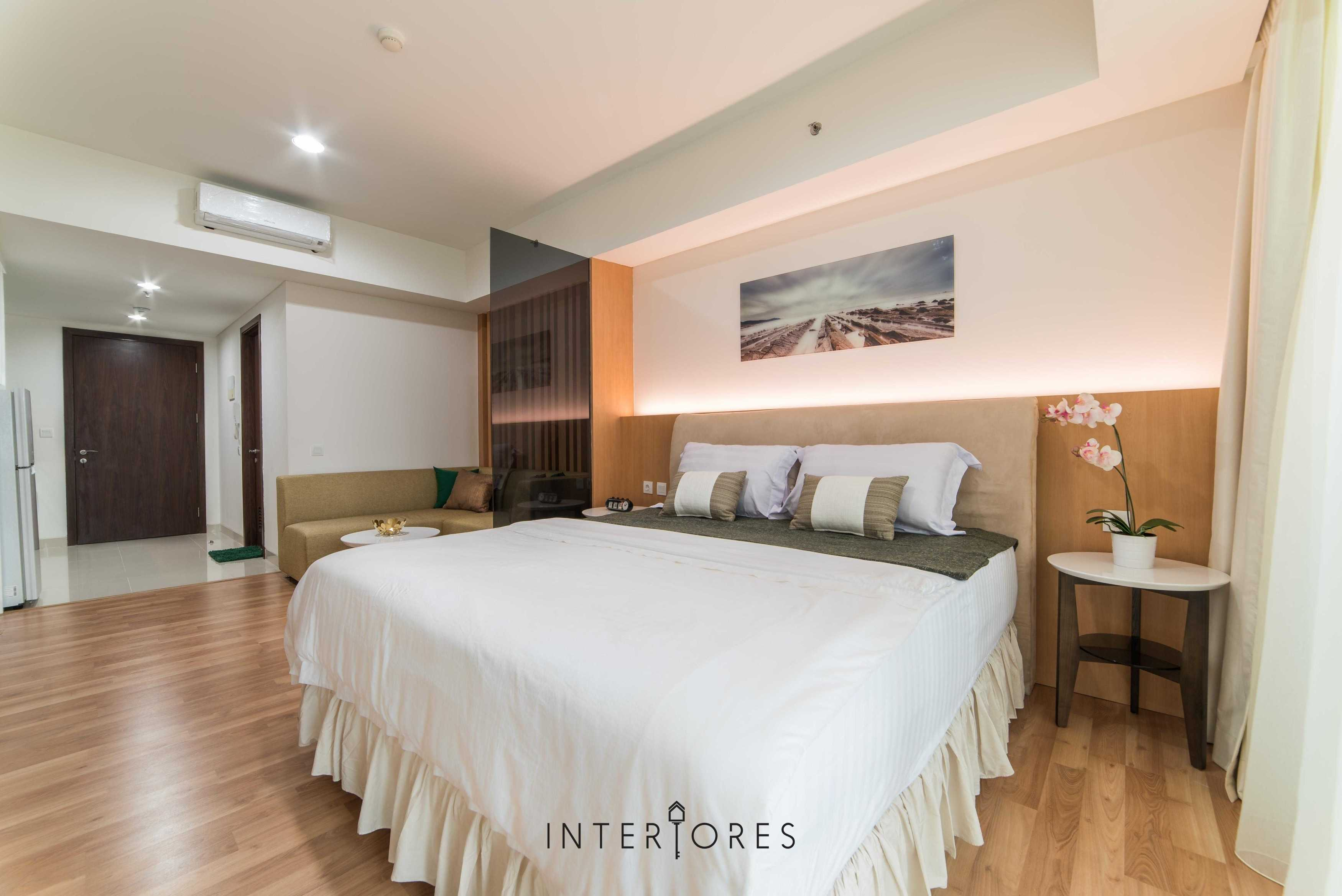 Interiores Interior Consultant & Build Studio 06C3 Kemang Village, Jakarta Selatan Kemang Village, Jakarta Selatan Bedroom Modern  17696