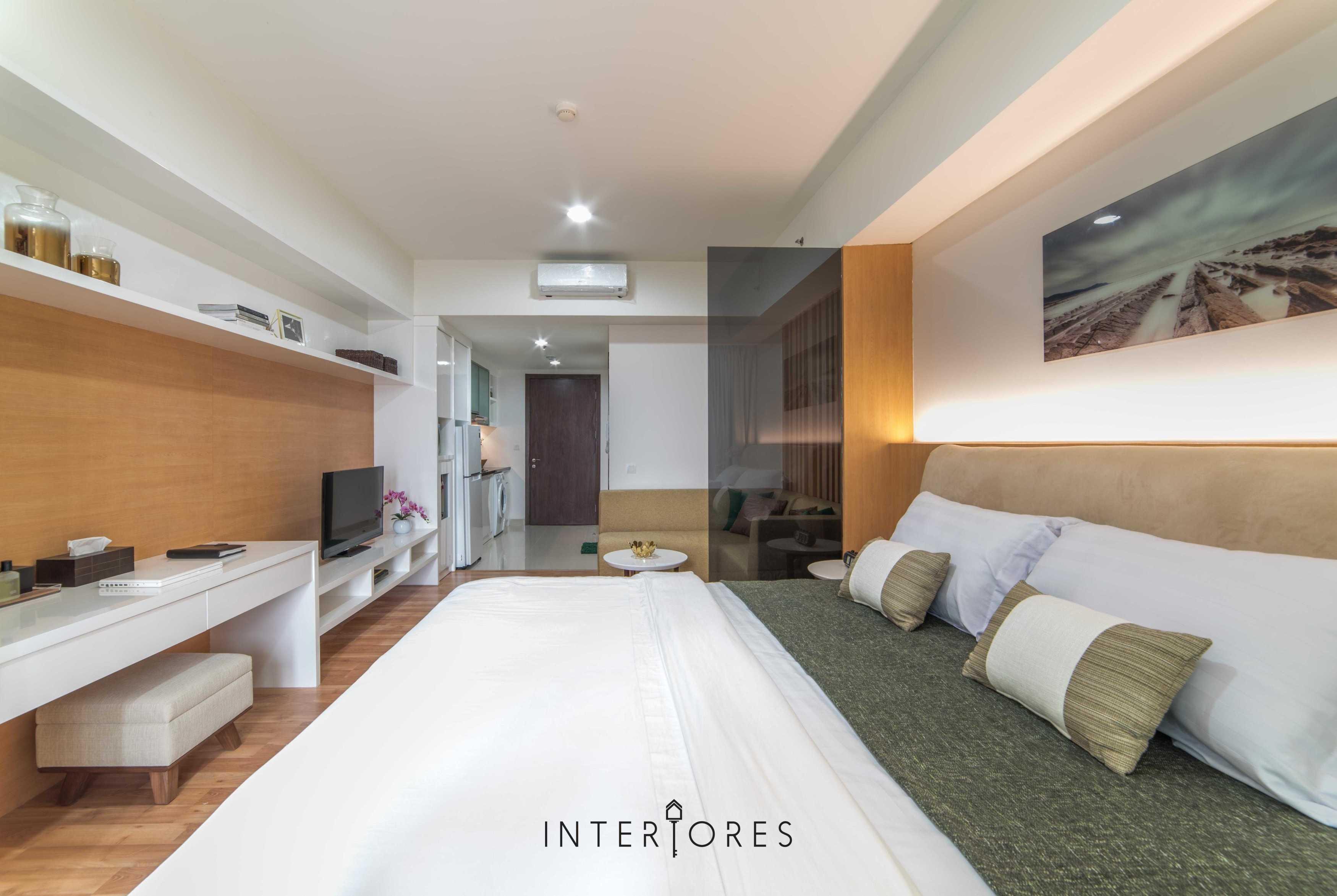 Interiores Interior Consultant & Build Studio 06C3 Kemang Village, Jakarta Selatan Kemang Village, Jakarta Selatan Bedroom Modern  17697
