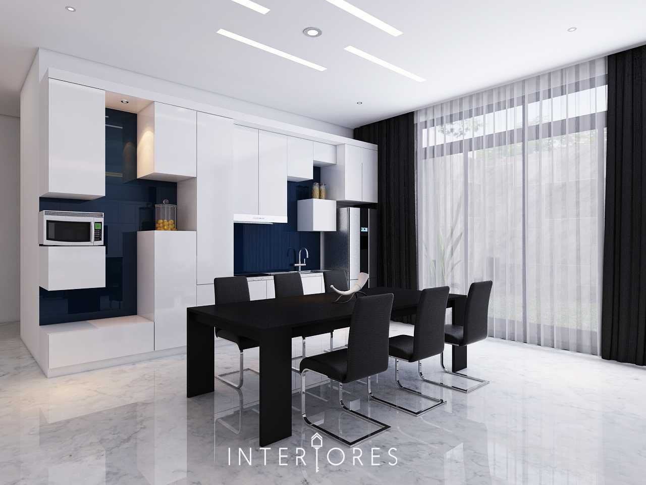 Interiores Interior Consultant & Build Sutera Onyx Alam Sutera Alam Sutera Dapur-Bersih-Ruang-Makan Modern  17709