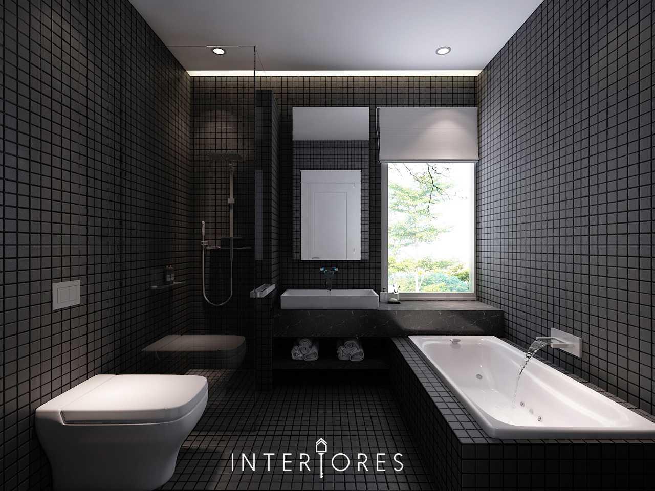 Interiores Interior Consultant & Build Sutera Onyx Alam Sutera Alam Sutera Kamar-Mandi-Utama Modern  17724