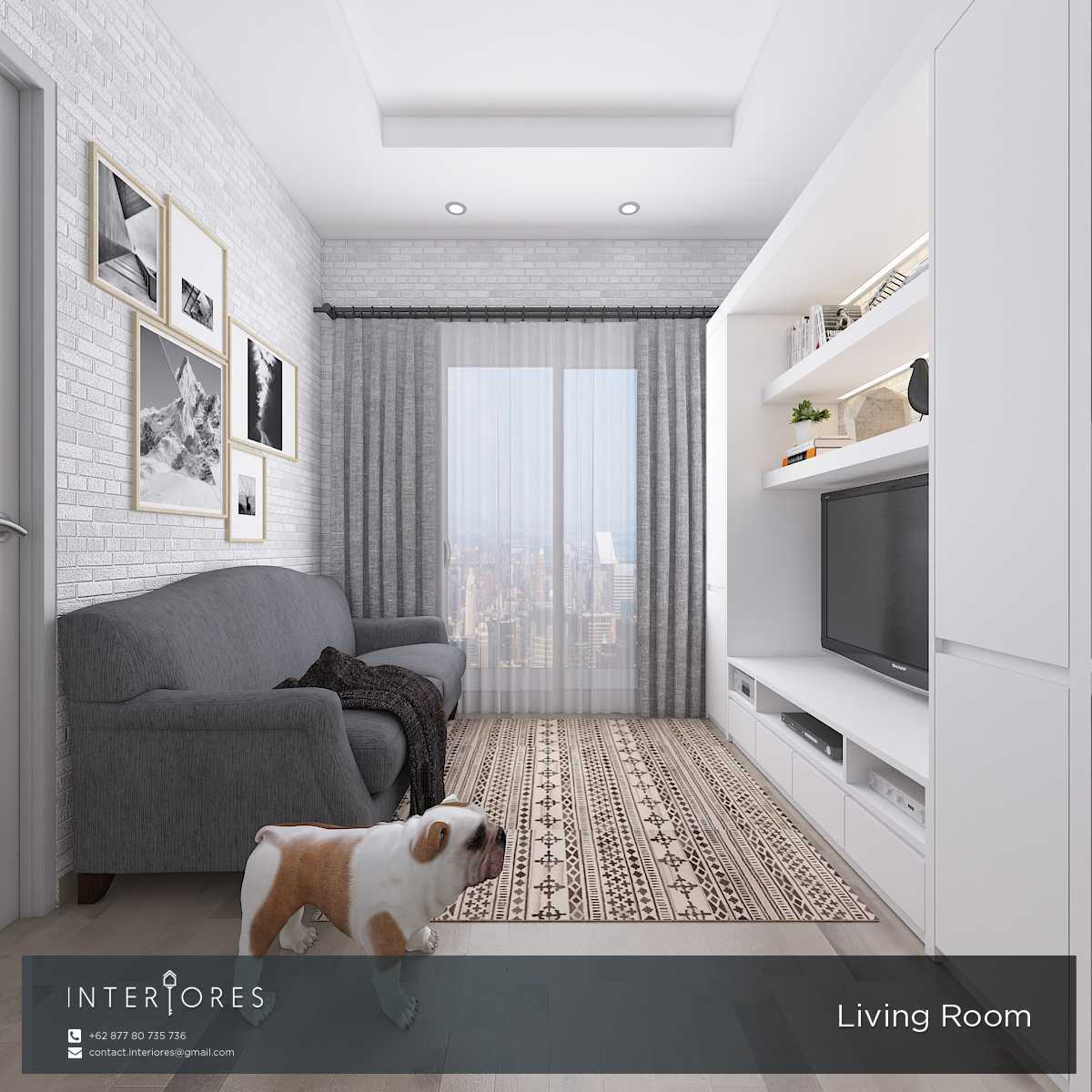 Interiores Interior Consultant & Build P. Scandi Pejaten Pejaten Living Room Modern,skandinavia  17963