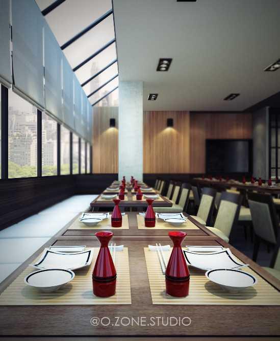 Rendrahandy Hong He Restaurant Pantai Indah Kapuk Pantai Indah Kapuk Dining Area Minimalis,asian,wood,modern  17845