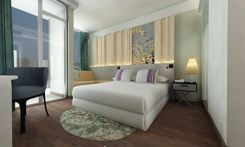 Letare Sitompul Mercure Hotel Bali Bali Bali Bedroom-View Kontemporer  18405