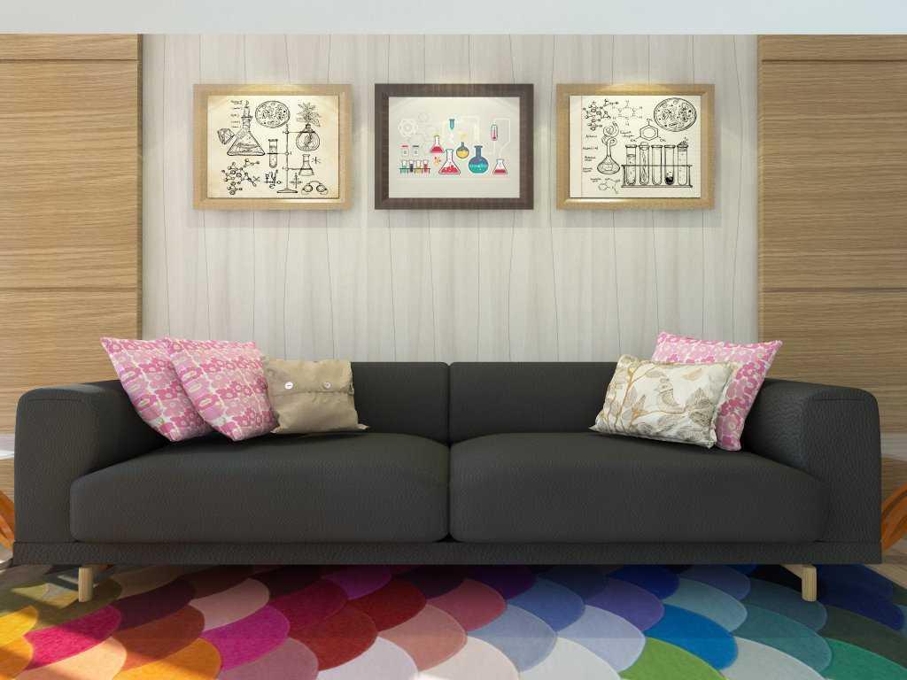 Letare Sitompul Apartment Interior Design - 03 Jakarta Jakarta Reading Room Modern  18406