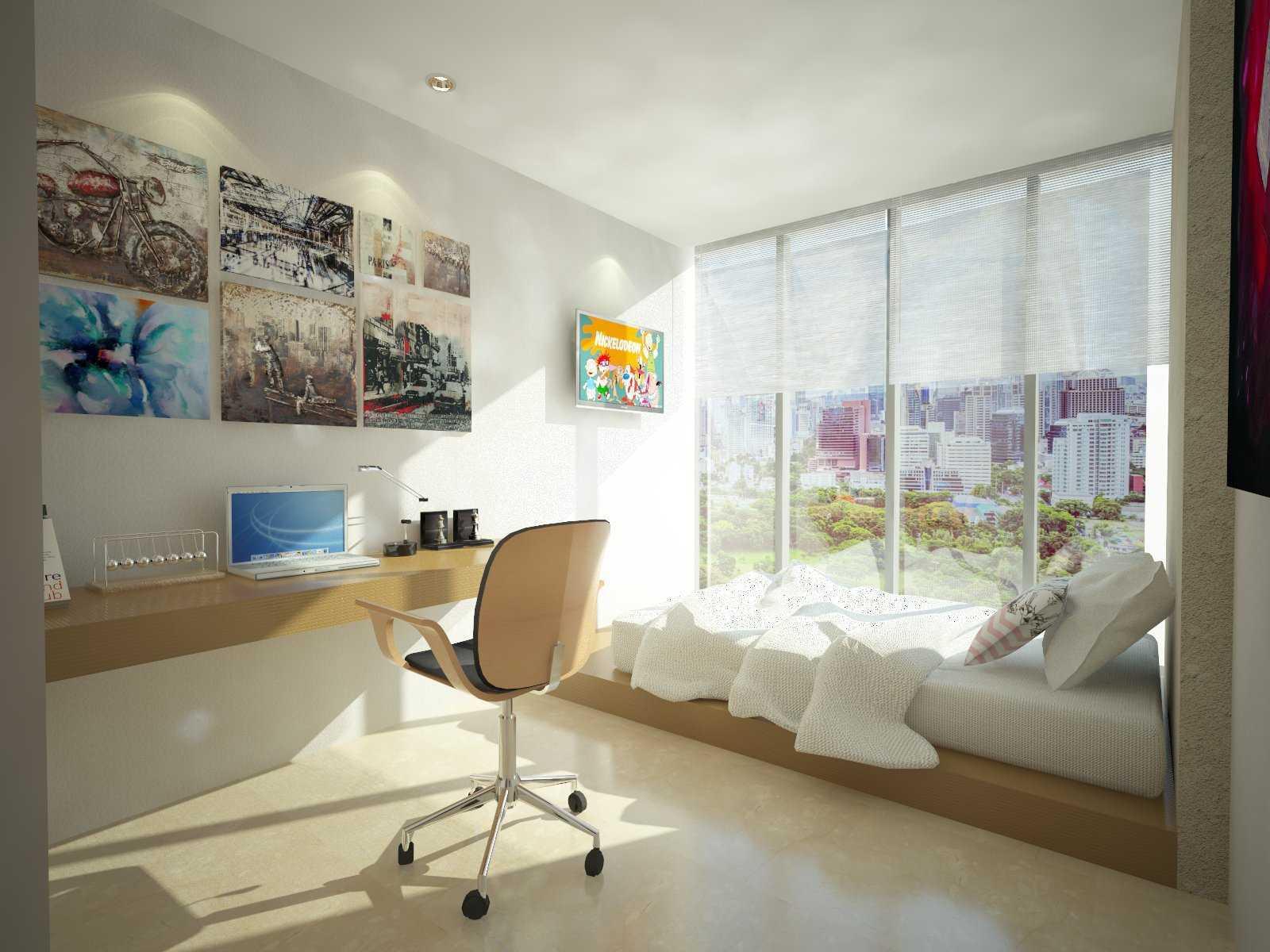 Letare Sitompul 17Ab Apartment Jakarta Jakarta V1-2Nd-Bedroom Minimalis  20661