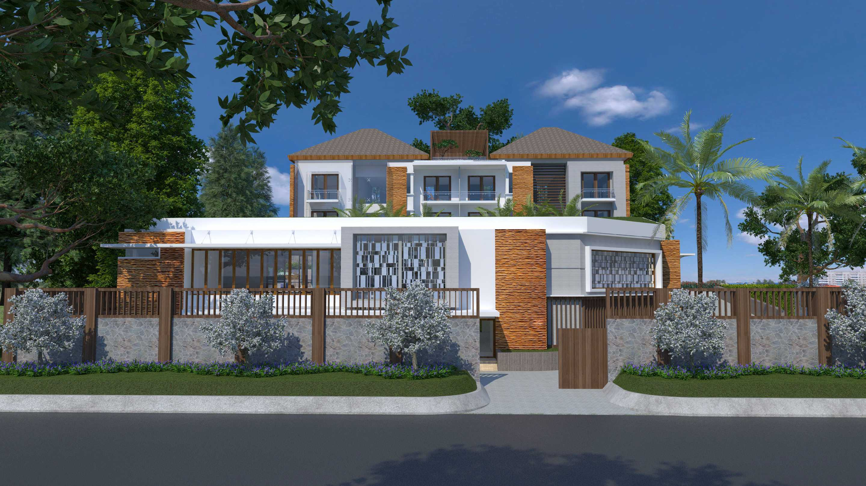 Letare Sitompul Ricca House Design Jakarta Jakarta Fasad-Cam-2 Modern  21563