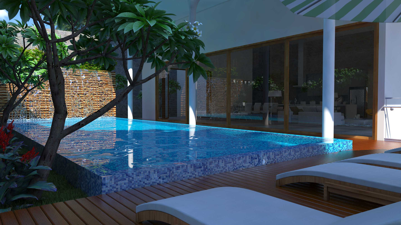 Letare Sitompul Ricca House Design Jakarta Jakarta Pool-View-Cam-3 Modern  21568