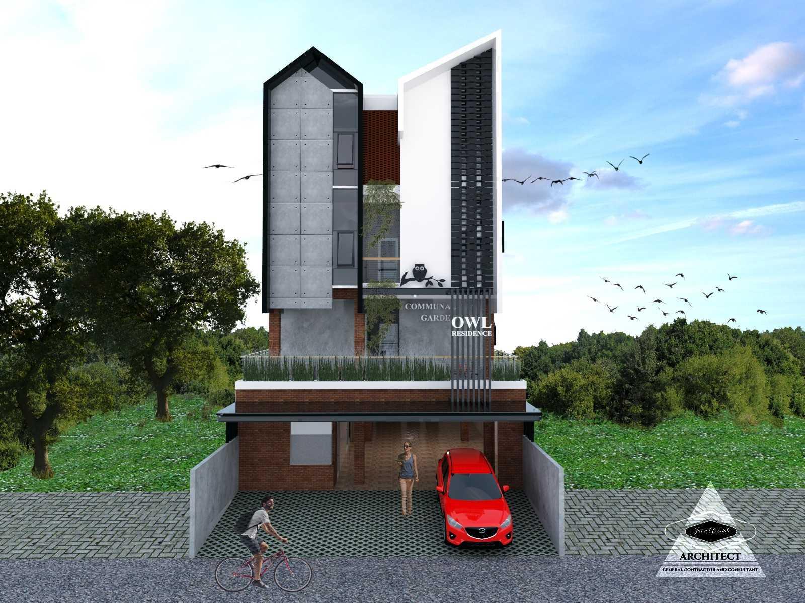 Jevi N Associates Owl Residence Lippo Karawaci Lippo Karawaci Facade Industrial,kontemporer  24207