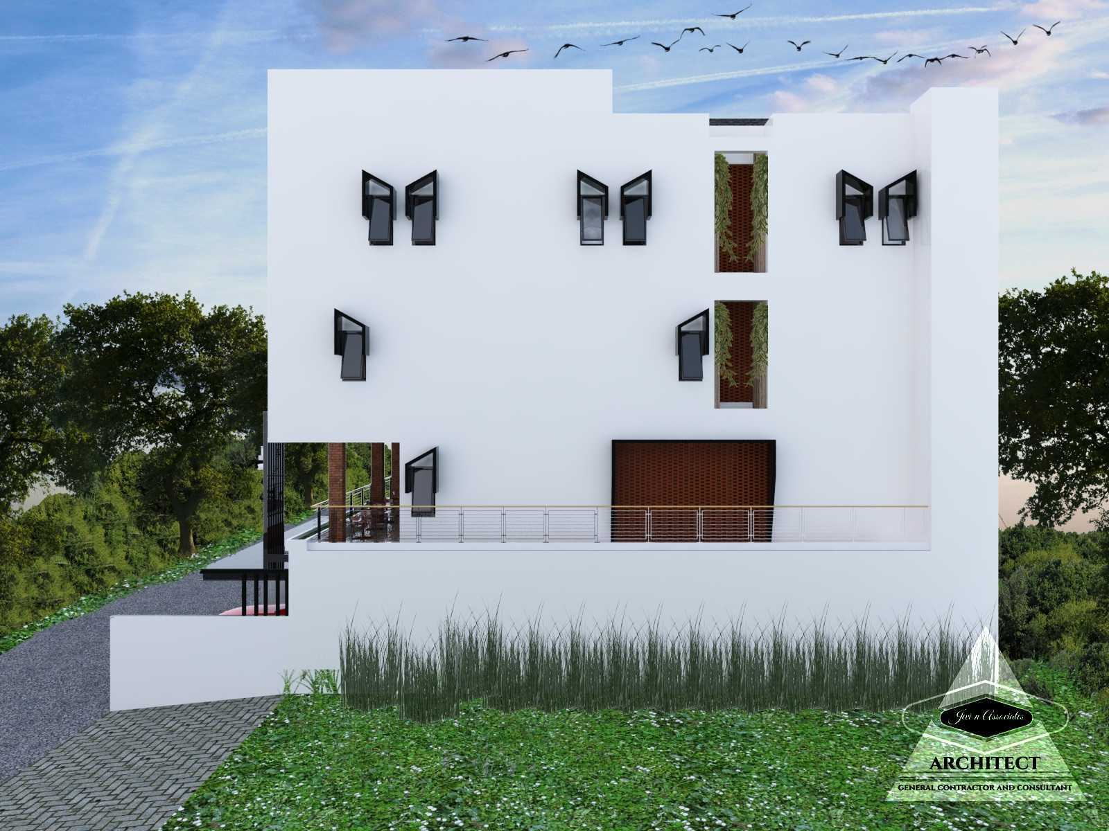 Jevi N Associates Owl Residence Lippo Karawaci Lippo Karawaci Side View Industrial,kontemporer  24208