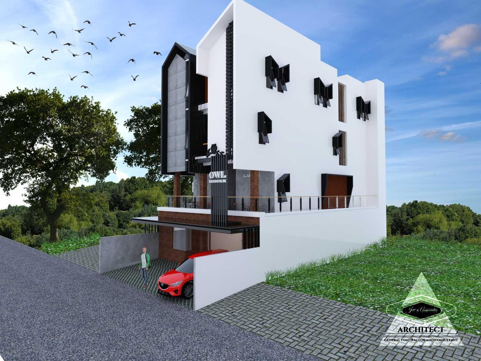 Jevi N Associates Owl Residence Lippo Karawaci Lippo Karawaci Side View Industrial,kontemporer  24212