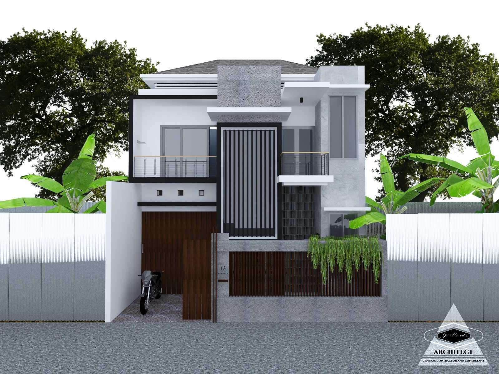 Jevi N Associates Rumah Viki 2 Cipondoh, Tangerang Cipondoh, Tangerang Front View   24223