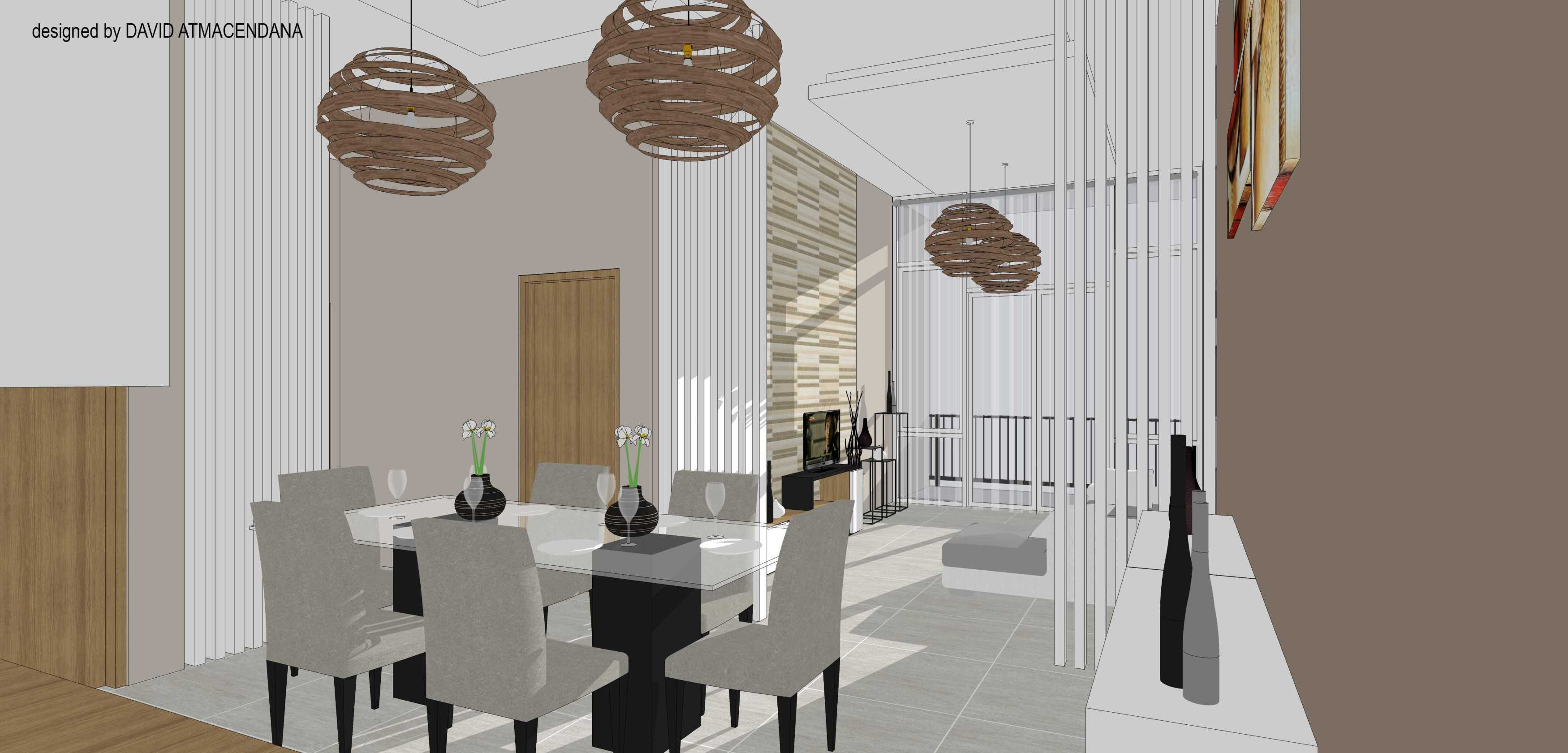 David Atmacendana Interior Simatupang Condominium Jakarta Selatan Jakarta Selatan Dining Room Minimalis  21638