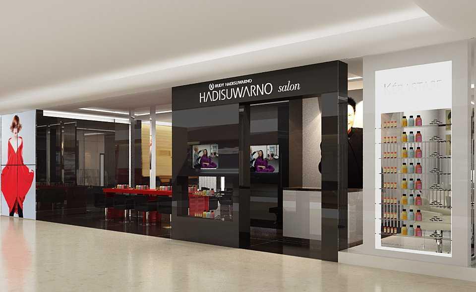 Dnd Design Studio Rudi Salon Plaza Indonesia Plaza Indonesia Front View Modern  18415