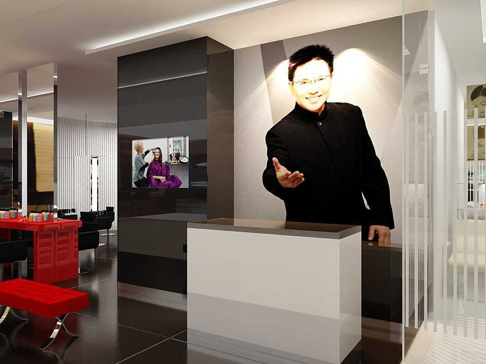 Dnd Design Studio Rudi Salon Plaza Indonesia Plaza Indonesia Reception Area Modern  18416