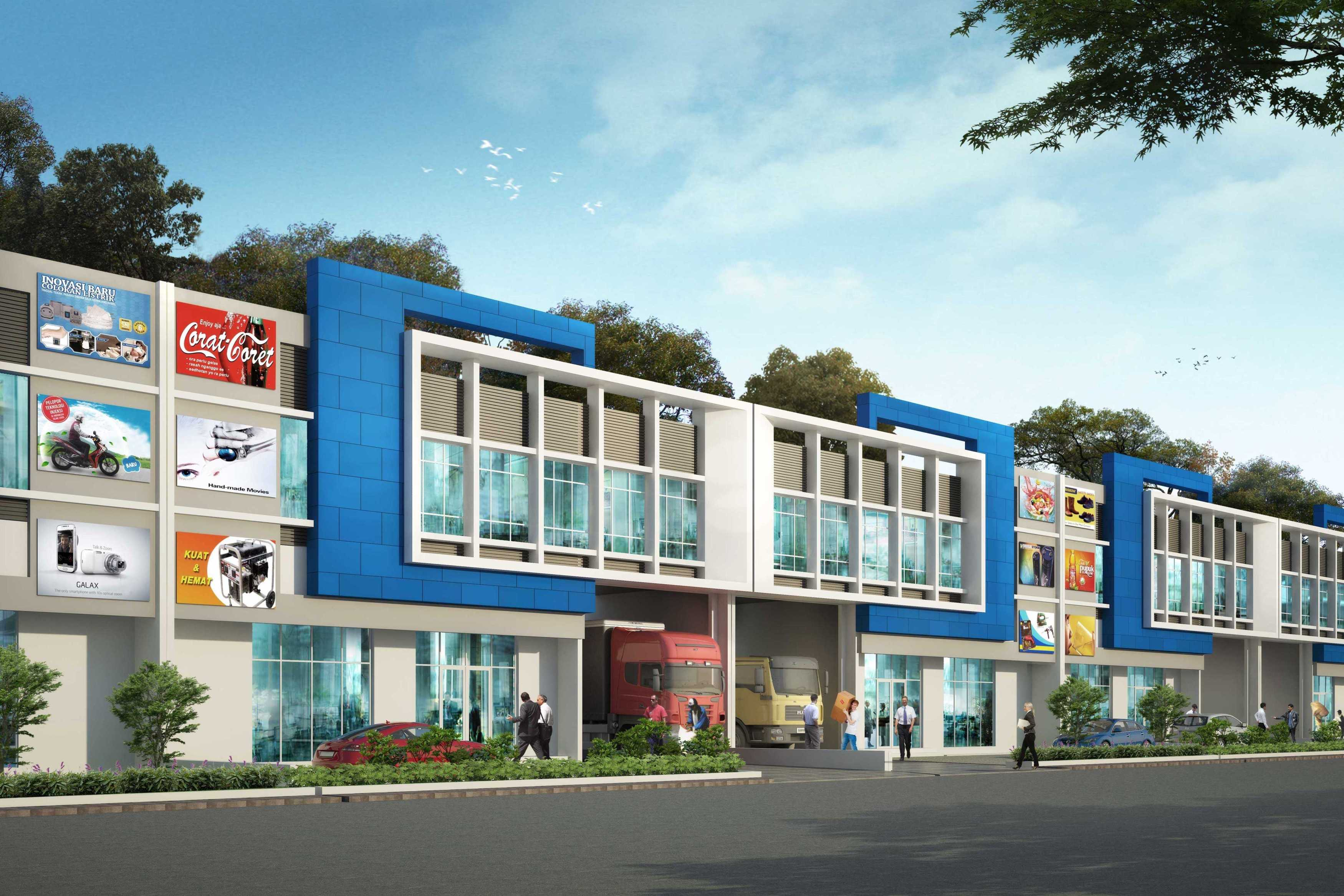 Tb Design Studio Gem City - 3 In 1 Warehouse Gresik Gresik Gudang Lebar 18M   27713