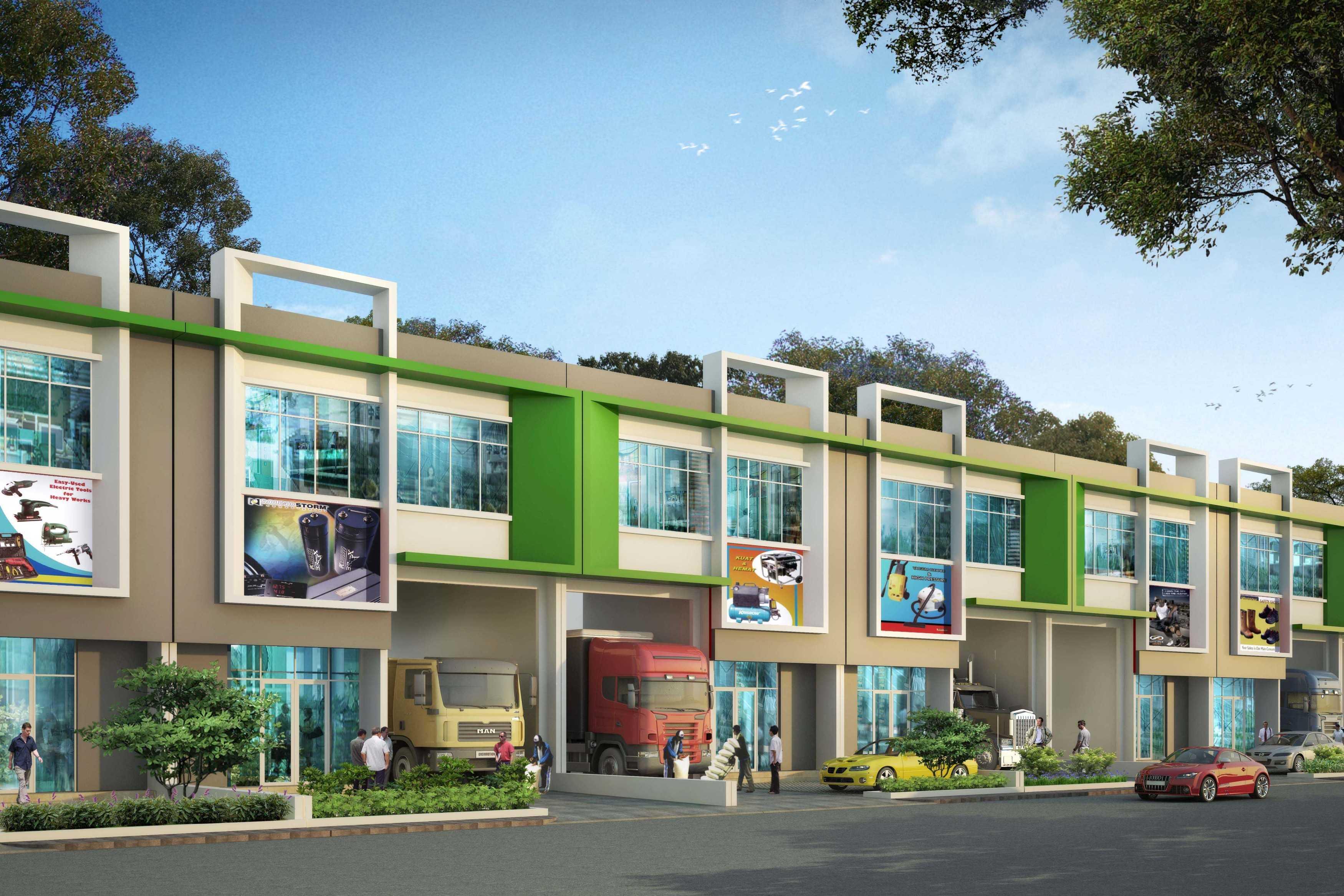 Tb Design Studio Gem City - 3 In 1 Warehouse Gresik Gresik Gudang Lebar 10M Modern  27715
