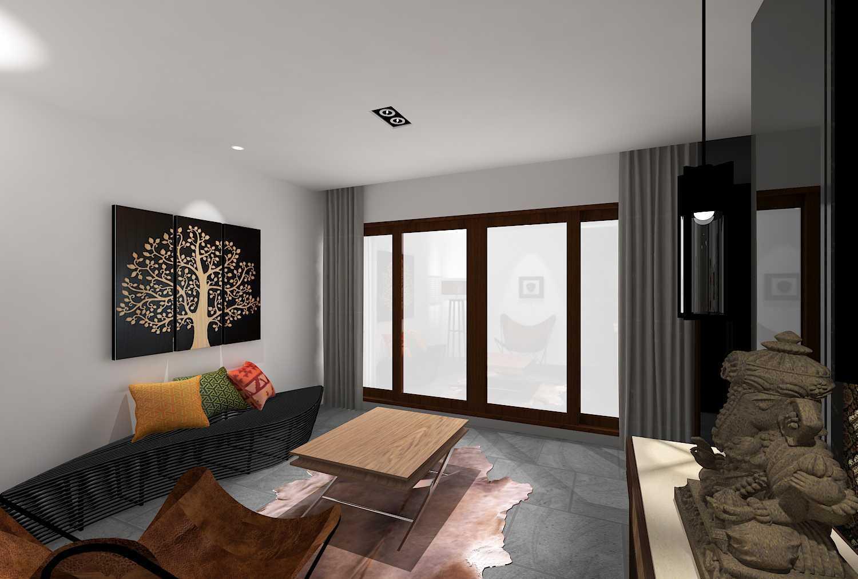 E'architect (Emil Yusman) Desain Interior Rumah Riscon Hills Jl. Bambu Hitam No.76, Rt.4/rw.1, Cipayung, Kota Jakarta Timur, Daerah Khusus Ibukota Jakarta 13840, Indonesia East Jakarta Guest-Room- Modern  20171