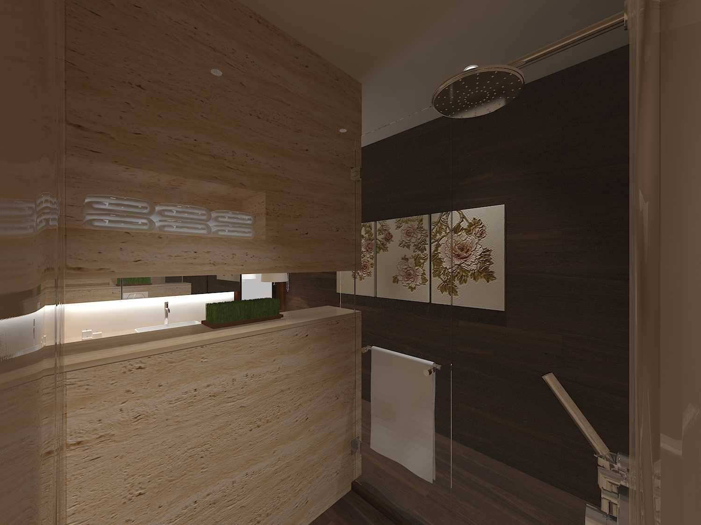 E'architect (Emil Yusman) Desain Interior Rumah Riscon Hills Jl. Bambu Hitam No.76, Rt.4/rw.1, Cipayung, Kota Jakarta Timur, Daerah Khusus Ibukota Jakarta 13840, Indonesia East Jakarta Children-Bathroom- Modern  20173