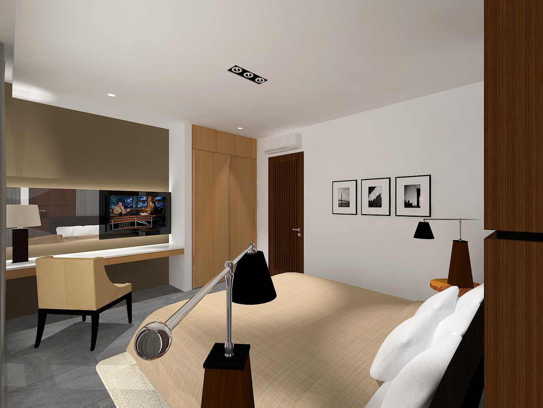 E'architect (Emil Yusman) Desain Interior Rumah Riscon Hills Jl. Bambu Hitam No.76, Rt.4/rw.1, Cipayung, Kota Jakarta Timur, Daerah Khusus Ibukota Jakarta 13840, Indonesia East Jakarta Guest-Bedroom- Modern  20179