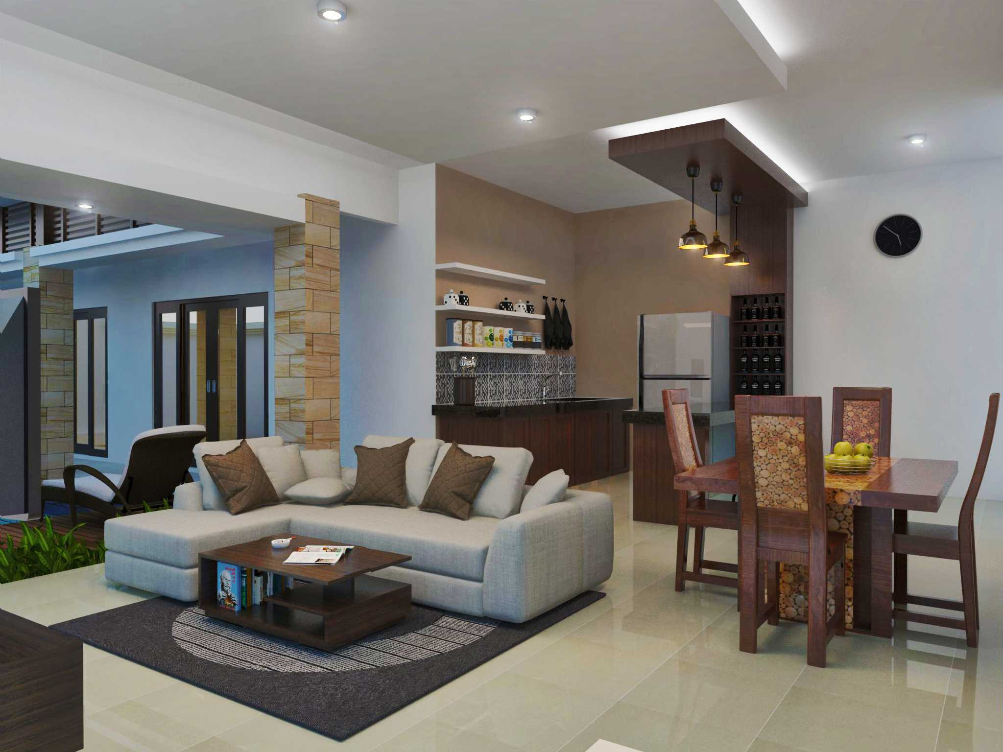 Arsatama Architect Langkung Villa`s - Bali Gianyar, Gianyar Sub-District, Gianyar, Bali, Indonesia Bali, Indonesia Living-Roomlangkung-Villas   23621